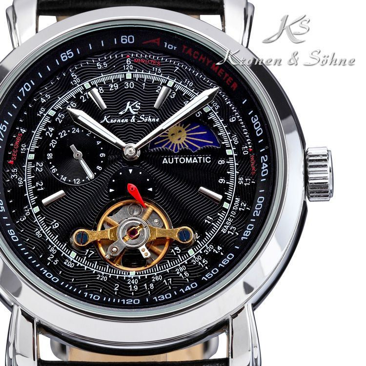 Picture of KS Tourbillon Black KS068