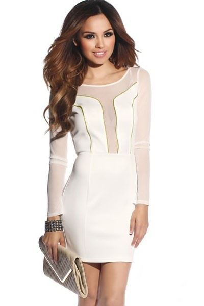 Picture of Long Sleeve Mini-dress