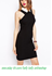 Picture of Women Slim one-step dress with white turn-down collar